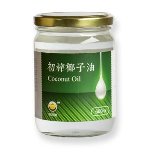 天然冷压 海南椰子油500ml