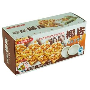 旺奇香酥椰片112g