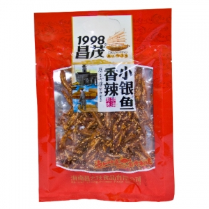 昌茂香辣小银鱼160g