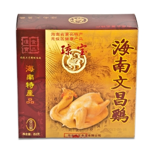 琼宝文昌鸡850g